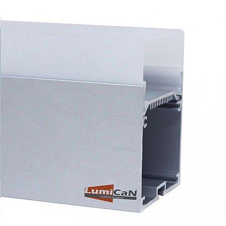 Perfil Led Alumínio Pendente 5,5cm x 7,5cm -  LUM72