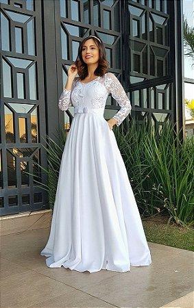Vestido Noiva Peônia
