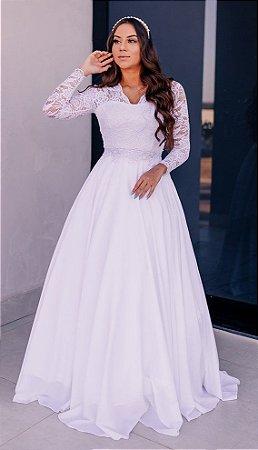 Vestido Noiva Madressilva