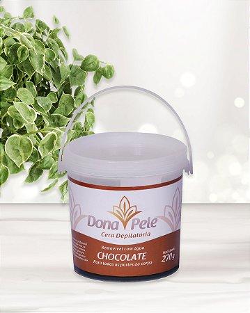 Cera Depilatória Dona Pele Chocolate  270g