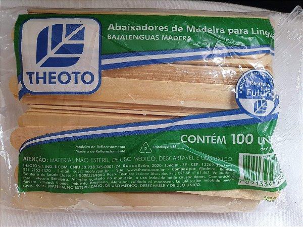 Palito Para Depilação (pacote c/ 100 unidades) THEOTO