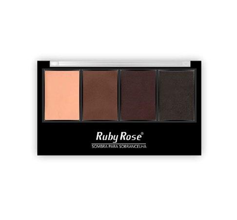 PALETA PARA SOBRANCELHAS HB9354 - RUBY ROSE