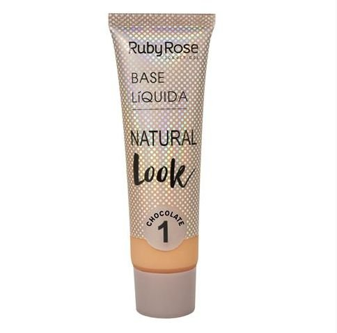 Base Líquida Natural Look HB8051 (CHOCOLATE) - Ruby Rose