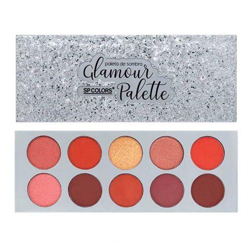 Paleta de Sombras Glamour Palette - SP Colors