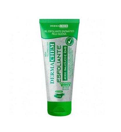 Esfoliante Facial Enzimático Ácido Salicílico Pele Oleosa 100g - Dermachem