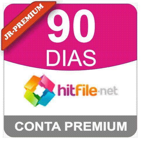 Conta Premium Hitfile 90 Dias