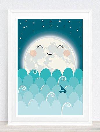 Quadrinho Lua