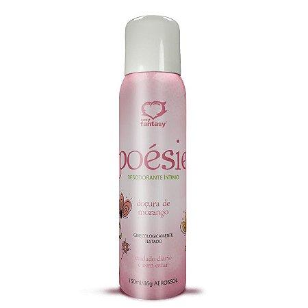Desodorante Íntimo Poésie Morango