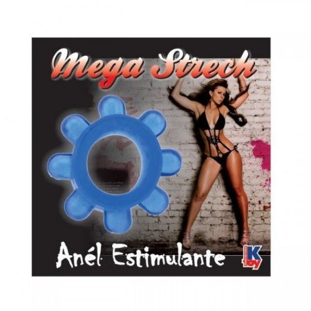Anel Peniano Mega Stretch Azul
