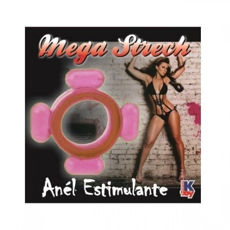 Anel Peniano Mega Stretch Rosa