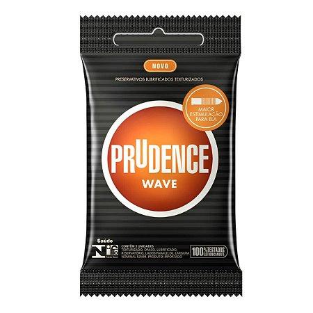 Preservativo Prudence Wave Texturizado