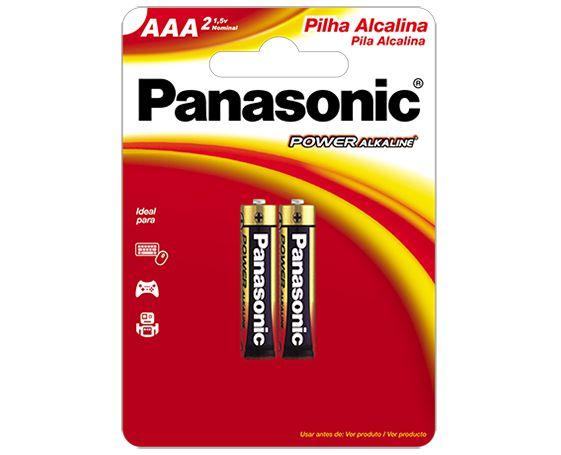 Pilha Alcalina Panasonic AAA