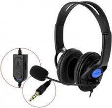 Fone Headset Gamer Com Microfone P4 / X - One