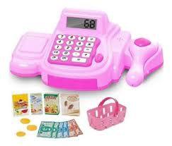 Mini Maquina Caixa Registradora Brinquedo De Aprendizagem
