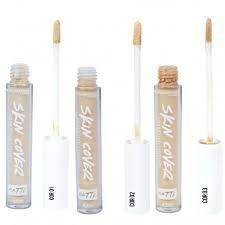 Corretivo  líquido skin cover Bella femme