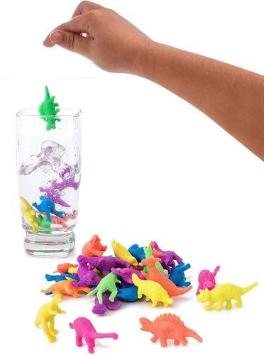 Dinossauro Gel Cresce Na Água 20 Unid
