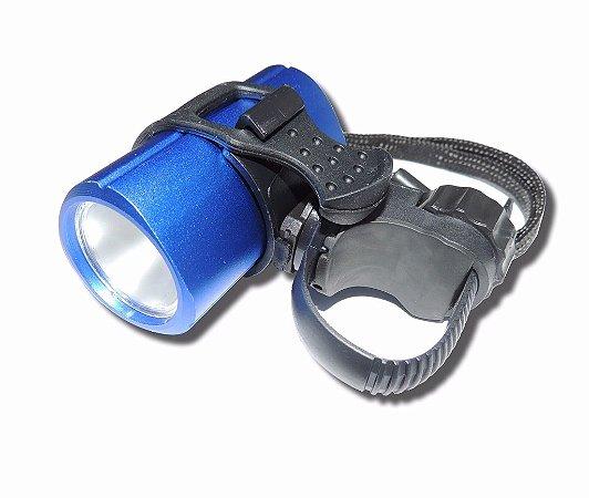 Lanterna Com Led Super Brilhante 10w Farol Bike Dianteira