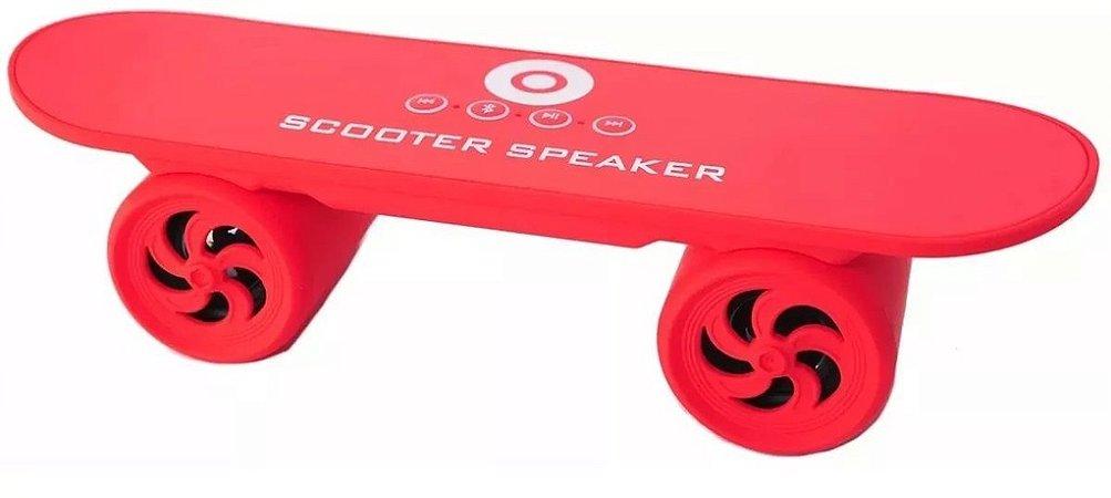 Skate Caixa De Som Bluetooth Sem Fio, Sd, Usb Atende Celular