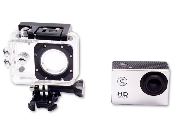 Câmera Hd 1080p 30m Full Hd Lcd1,5 Aprova Dágua Audio 12mp