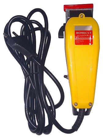 Máquina De Cortar Cabelo 110v 8 Pentes-guia Kit Completo