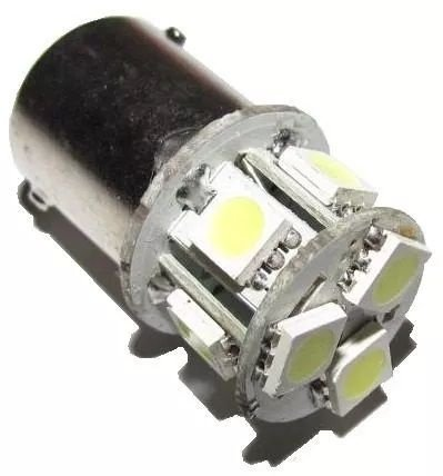 Lampada Pra Carro Led Interno 08leds (branco) 12v High Power