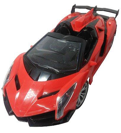 Carro De Controle Remoto Ferrari Xf Escala 1:16 Presente