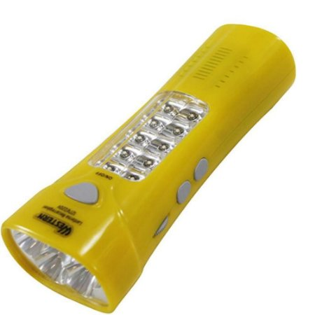 Lanterna Radio Fm Led Recarregável Luz De Emergência Mk-3203