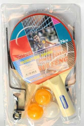 Ping Pong, Tênis De Mesa Com Suporte, Raquetes,bolas E Rede