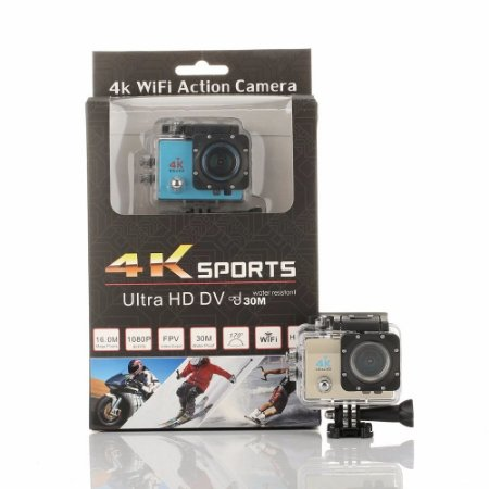 Camera Action Go Cam Pro Sports Prova Dágua Ultra 4k Full Hd