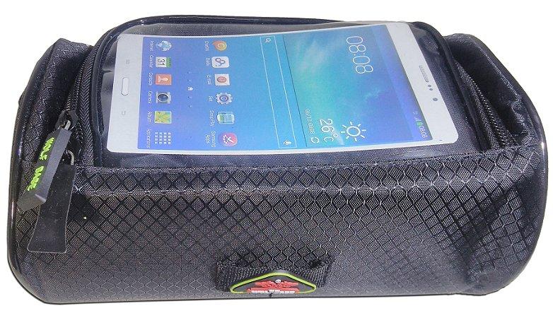 Bolsa De Quadro Pra Bicicleta ,porta Objetos Iphone Galaxy