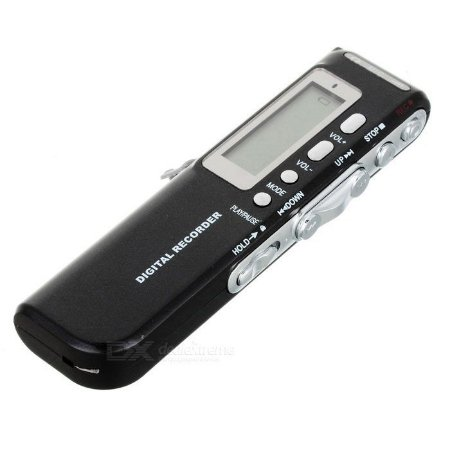 Gravador De Voz Lcd Mp3 Player Digital Voice Recorder