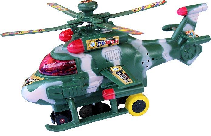 Helicóptero De Bombardeio Crazy Ultimate (exército Verde)