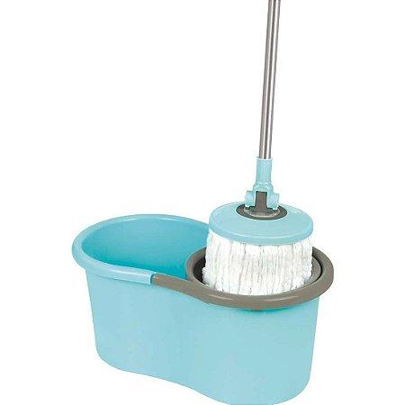 Esfregão Vassoura Para Limpeza Prática estilo Mop Mor, Balde, Refil