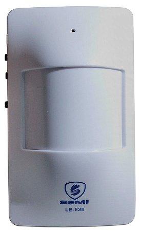 Sensor De Presença Para Porta Alerta Sonoro Le-638