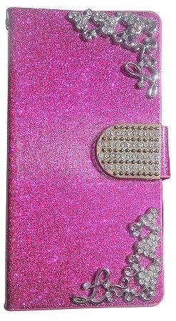 Capa Para Celular Lg L40 Dual ( Abre E Fecha ) Case Decorado