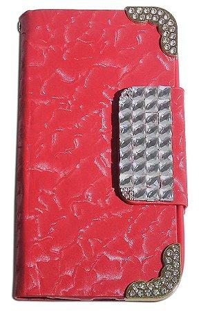 Capa Para Galaxy Core G3502 (abre E Fecha) Case Estampado