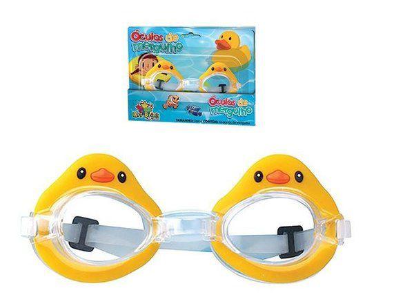 8fb26bcd4 Óculos De Mergulho Infantil Para Natação + Tampão De Ouvido