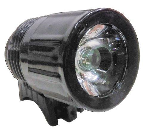 Lanterna Multifuncional Farol Dianteiro para Bicicleta Led 3w