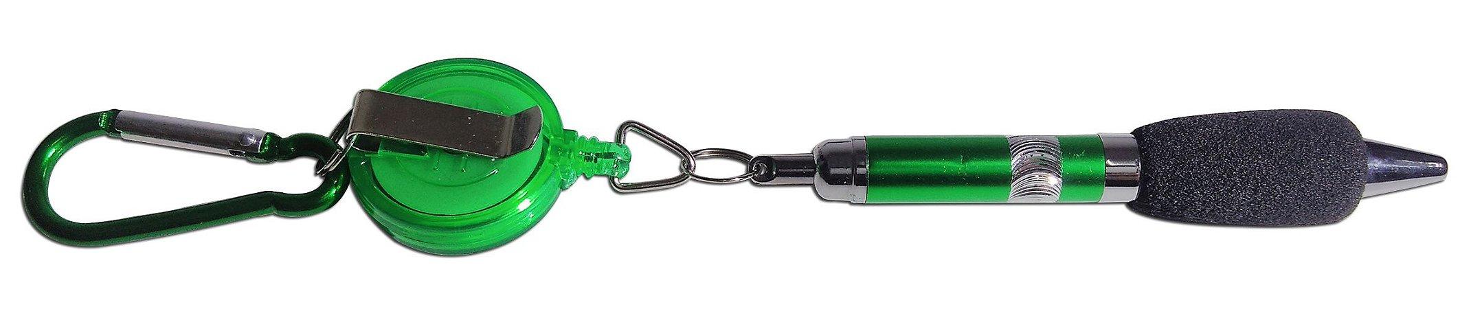 Mini Caneta Esferográfica Com Corda Que Estica (75cm)