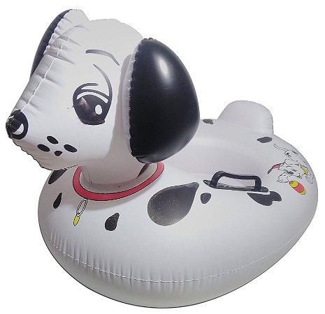 Boia Inflável Dálmata Modelo Bote Infantil Para Bebê Piscina