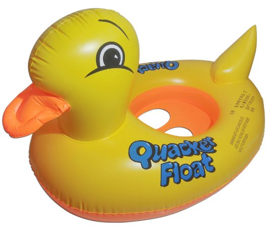 Boia Inflável Pato Modelo Bote Infantil Para Bebê Piscina