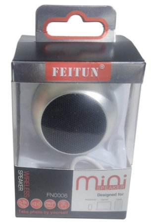 Caixinha De Som Bluetooth Mini Speaker 3w Feitun Fn-0006