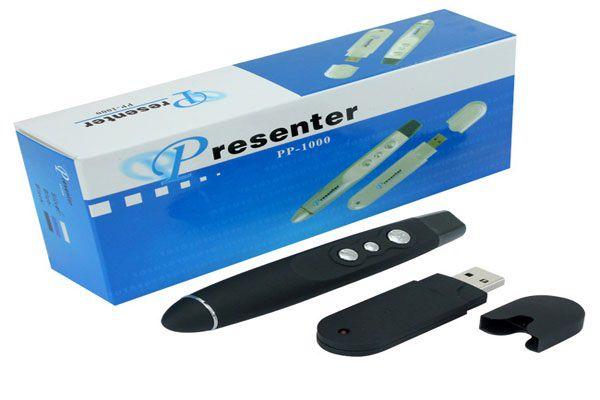 Kit- 20 unidades de Apresentador De Slides Caneta Laser Controle Presenter