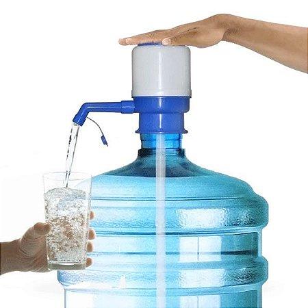 Bomba Manual Para Garrafão Galão De Água Potável Ação Vácuo