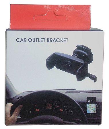 Suporte Veicular Para Celular Universal Car Outlet Bracket