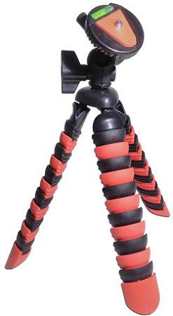 Tripé Para Câmeras e Celulares Com Nivelador