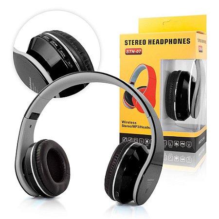 Fone De Ouvido Sem Fio Headphone Stereo Bluetooth Stn-07
