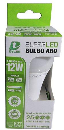 Lampada Super Led A60 12w Light Máximo Desempenho Bocal E27