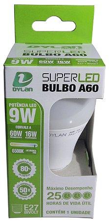 Lampada Super Led A60 9w Light Máximo Desempenho Bocal E27