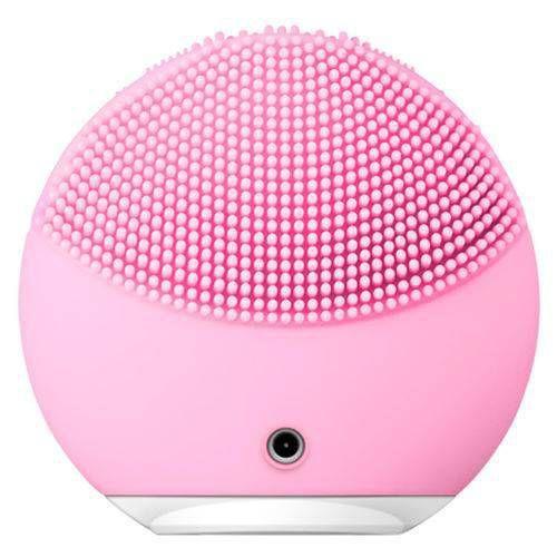 Esponja de silicone escova Limpeza facial massageadora recarregável